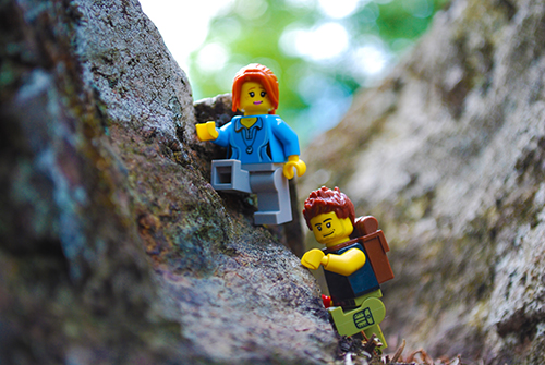 Lego On Vacation Day 11 Hiking True North Bricks