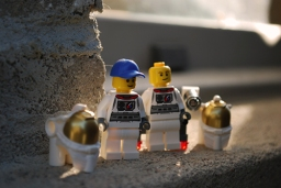 LEGO Space Starter Set Astronauts front view