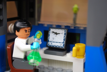 LEGO Indominus rex Breakout control room