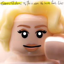 Gwen Stefani This is What the Truth Feels Like album cover LEGO-fied