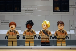 LEGO Ghostbusters front printing.