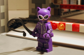LEGO Catwoman front view.