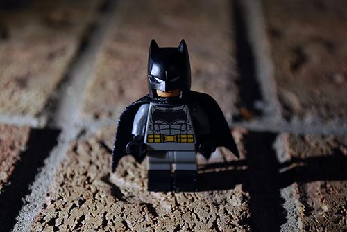 LEGO Batman view.