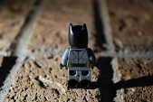 LEGO Batman rear view.