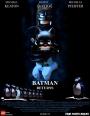 Batman Returns poster LEGO-fied