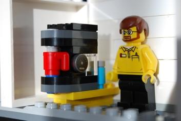 MOC LEGO Store break room.