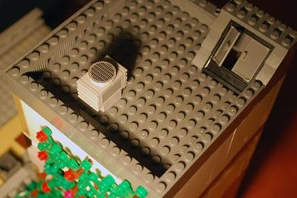 MOC LEGO Store roof.
