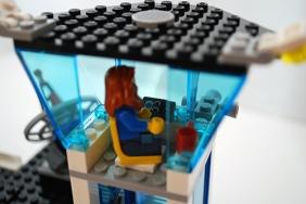 LEGO 60047 - Police air traffic control