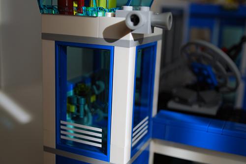 LEGO 60047 - Police equipment storage room