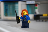 LEGO 60047 - Cop 2 front view