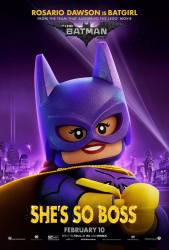 LEGO Batgirl Poster
