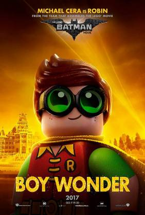 LEGO Robin Poster