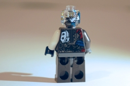 LEGO Ultron MK1 rear view.