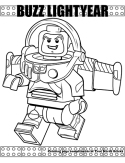 Buzz Lightyear coloring page