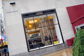 The LEGO Store at Rockefeller Center.