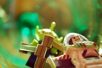LEGO Buzz Lightyear and Alien