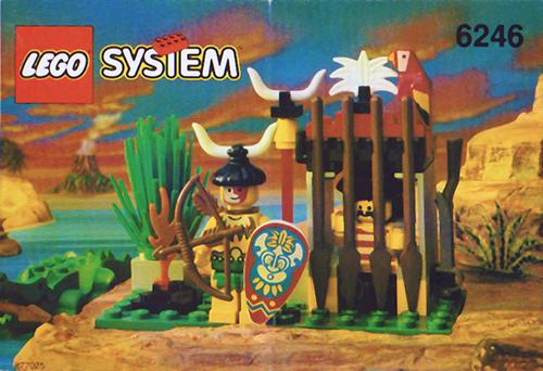 LEGO Islanders - Crocodile Cage