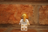 LEGO Scooby-Doo mummy rear view