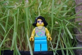 LEGO Easter Egg Hunt - alternate face