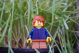 LEGO Easter Egg Hunt - Kid Minifig front view