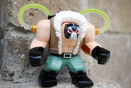 LEGO Bane front view
