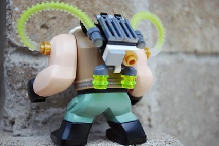 LEGO Bane rear view