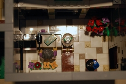 LEGO Assembly Square [10255] flower shop.