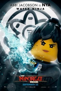Official Ninjago Movie Nya character poster