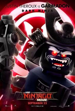 Official Ninjago Movie Garmadon character poster