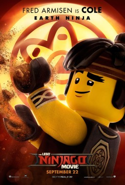 Official Ninjago Movie Cole character poster
