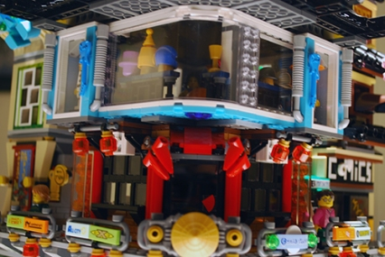 LEGO Ninjago City second level.