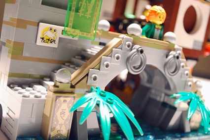 LEGO Ninjago City bridge.