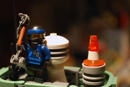 The Blue Ninja in LEGO Ninjago City