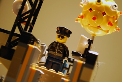 Police officer in LEGO Ninjago City.