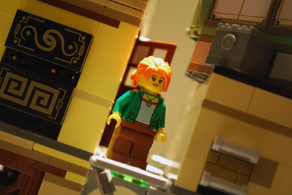 Koko in LEGO Ninjago City.