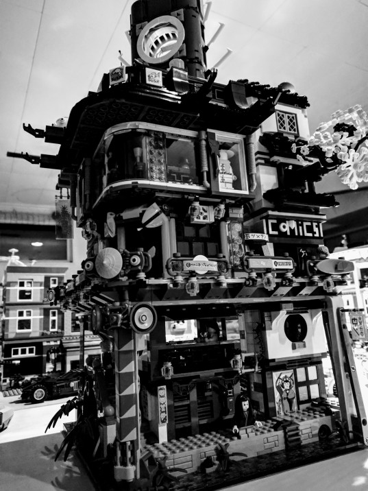 LEGO Ninjago City completed.