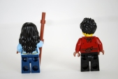 LEGO Dragon's Forge (70627) Ray & Maya - rear view.