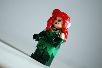LEGO Scuttler, Poison Ivy front view.