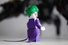 LEGO Scuttler Joker rear view.