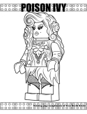 Poison Ivy coloring page