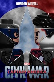 Captain America: Civil War LEGO-fied