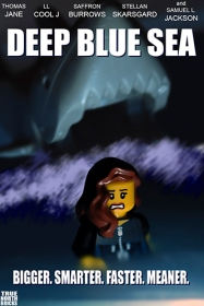 Deep Blue Sea LEGO-fied