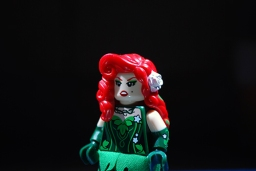 The LEGO Poison Ivy that I used in my LEGO-fied poster.