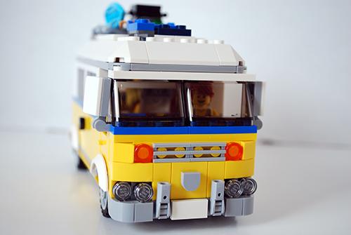 lego uk 31079 sunshine surfer van