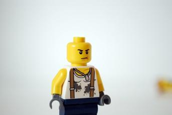 My LEGO-fied Vin Diesel