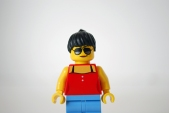My LEGO-fied Michelle Rodriguez