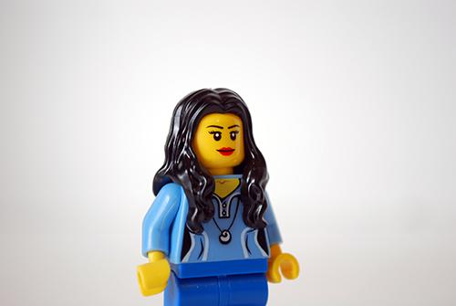 My LEGO-fied Jordana Brewster