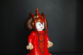 The Queen Amidala photo I used in the production of my Episode I poster.