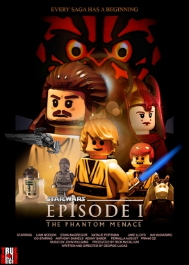 Star Wars: Episode I LEGO-fied