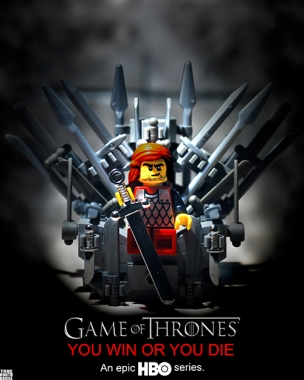 Game of Thrones LEGO-fied